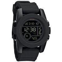 NIXON 腕時計 NA490001 00 ユニセックス THE UNIT 40 ユニット ALL BLACK オールブラック