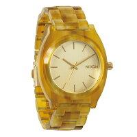 NIXON Time Teller Acetateタイムテラーアセテート Champagne Gold  Amber NA3271423-00腕時計 レディース メンズ  ファッション  1125NIXON