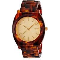 NIXON 腕時計 THE TIME TELLER ACETATE GOLD MOLASSESタイムテラー アセテート ゴールド モラセス  NXS-NA3271424-00 ユニセックス02