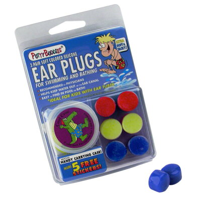 PUTTY BUDDIES パティバディーズ イヤープラグ 耳栓 3ピース / サーフィン耳栓 サーファースイヤー予防