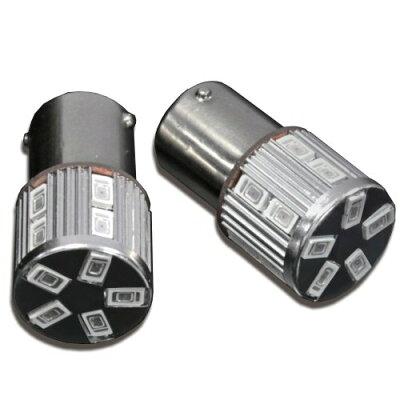 (gracias) S25 150度ピン角違い ステルスLED SAMSUNG-LED 17チップ/アンバー ウインカー対応 LE25-04-17U
