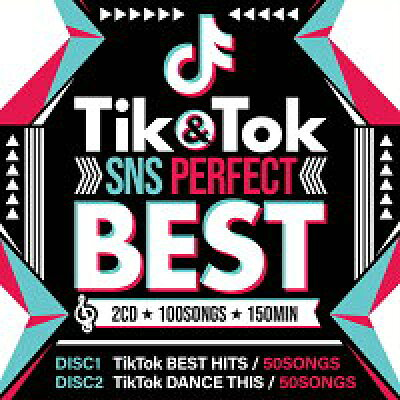 V.A / TIK & TOK -SNS PERFECT BEST- 2CD 100SONGS