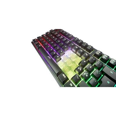 Xtrfy ゲーミングキーボード 赤軸 XG-K3-RGB-US