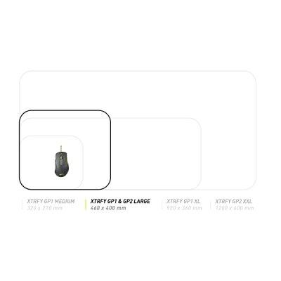 701087 Xtrfy ゲーミングマウスパッド Lサイズ コントロール表面 GP2 LARGE エクストリファイ LARGE-SIZED GAMING MOUSEPAD