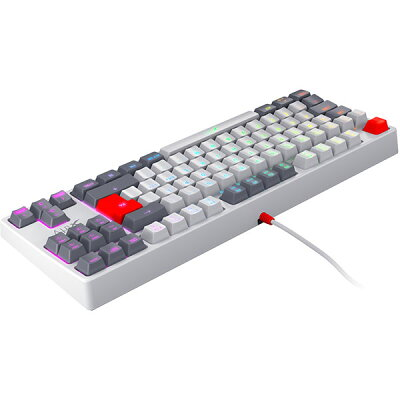 Xtrfy XG-K4-RGB-TKL-RETRO-UK テンキーレス ゲーミングキーボード LEDイルミ