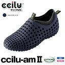 ccilujapan ccilu am 2 チル エイエム 2 機能性リラックスシューズ サンダル ネイビー&ブラック(cciluam2-navy)
