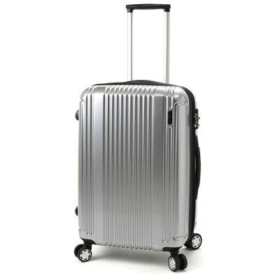 BERMAS/バーマス 60253 PRESTIGE/プレステージ スーツケースファスナータイプ シルバー 旅行 スーツケース キャリー 国内 海外 Mサイズ