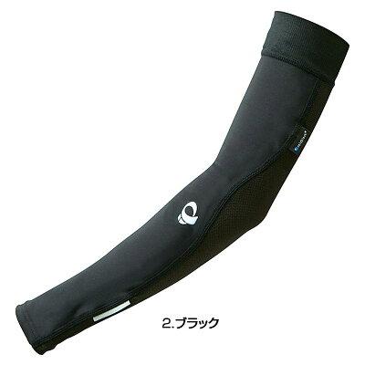 パールイズミ W401-2-S レディース コールドブラックアームカバー Sサイズ ブラック (S)お