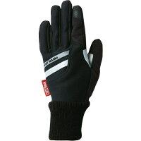 パールイズミ ウィンドブレーク ウィンター グローブ ブラック Mサイズ W7215-1-M
