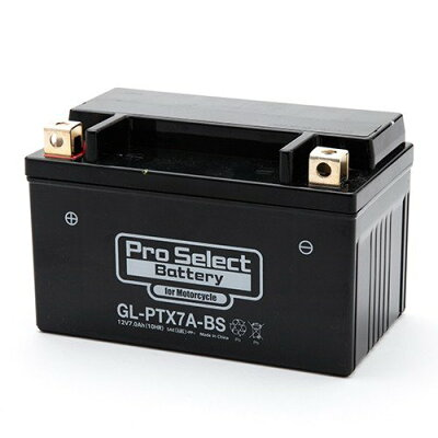 Pro Select Battery プロセレクトバッテリー 汎用 プロセレクトバッテリー GL-PTX7A-BS YTX7A-BS 互換 液入