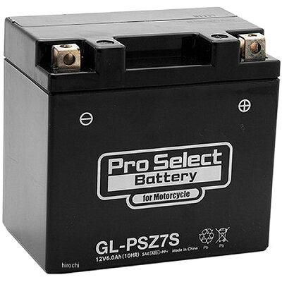 プロセレクト バイクバッテリー gl-psz7s ytz7s 互換 ジェルタイプ 液入