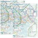 東京カート 鉄道路線図クリアファイル 首都圏日本語