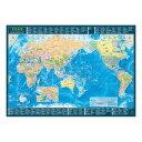 東京カート 世界地図 A2