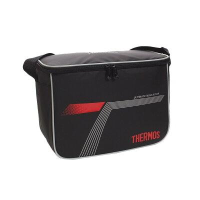 スポーツクーラ- 10.0L 保冷対応 クーラーバッグ 容量:10L 31.5×16×24cm カラー:ブラックレッド#REI 0101 BKR