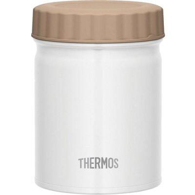 サーモス 真空断熱スープジャー 0.5L ホワイト JBT-500 WH(1個)