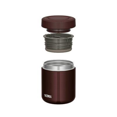 サーモス 真空断熱スープジャー 300ml ブラウン JBR-300 BW(1個)