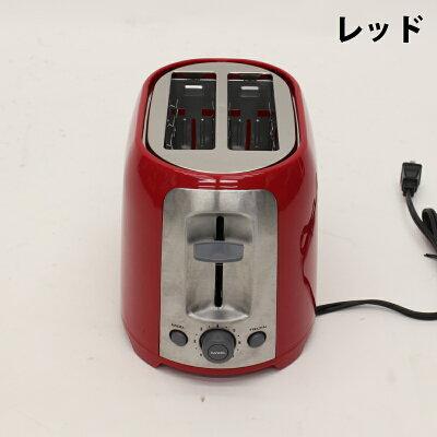 ヒロ・コーポレーション ポップアップベーカリートースター レッド HC-GP628RD