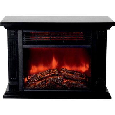 ヒロコーポレーション 暖炉ヒーター HD-100BK(1台)
