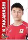 龍神NIPPON / クリアファイルステッカーセット 高橋選手 グッズ