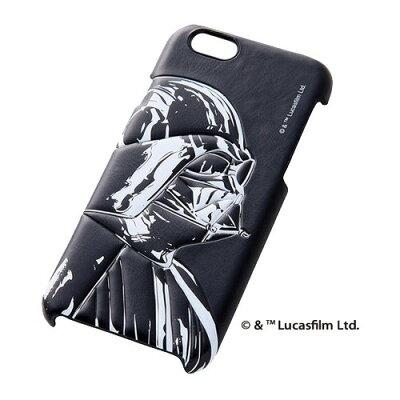 レイ・アウト iPhone6 スター・ウォーズ・ポップレザー/ダースベイダー RT-SWP7A/DV(1コ入)