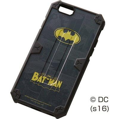 レイ・アウト iPhone6 / 6s 耐衝撃ケース バットマン/バットマン RT-WP9SC2/BM(1コ入)