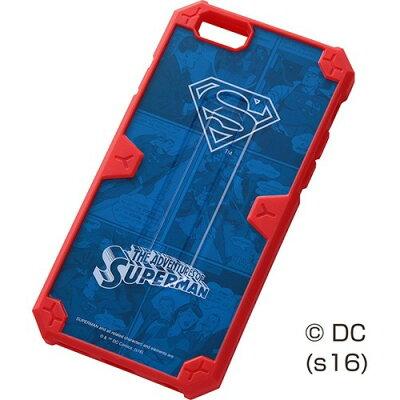 レイ・アウト iPhone6 / 6s 耐衝撃ケース スーパーマン/スーパーマン RT-WP9SC2/SM(1コ入)