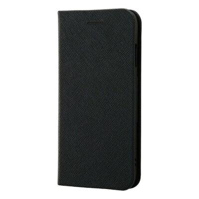 AppLe iPhone 8/iPhone 7 手帳型ケース マグネットタイプ ブラック RT-P14SLC3/JB(1コ入)