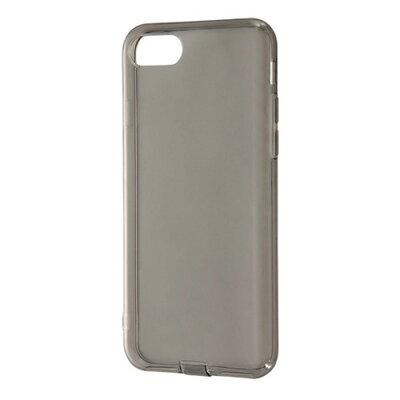 AppLe iPhone8/iPhone7 TPUソフトケース コネクタキャップ付 ブラックRT-P14TC10/BM(1コ入)