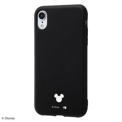 iPhone XR TPUソフトケース 耐衝撃 Light Petit ブラック RT-DP18CP4/B(1コ入)