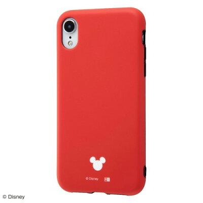 iPhone XR TPUソフトケース 耐衝撃 Light Petit レッド RT-DP18CP4/R(1コ入)