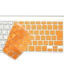 ビファイン AppLeワイヤレスキーボードカバー オレンジ BF2350W(1コ入)