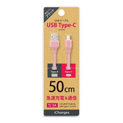 PGA USB Type-C USB Type-A コネクタ USBフラットケーブル PG-CUC05M09