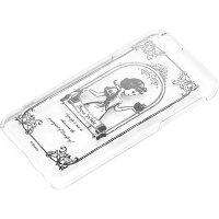iPhone6用 ハードケース クリア 銀箔押し 白雪姫 PG-DCS899SWH(1コ入)
