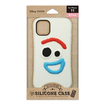 PGA iPhone 11用 シリコンケース  PG-DSC19B04TOY