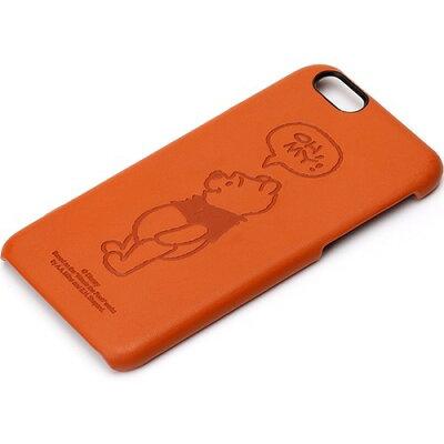 iPhone6s/6用 レザーケース くまのプーさん PG-DCS033POO(1コ入)