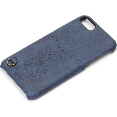 iPhone7 ハードケース ポケット付き R2-D2 PG-DCS155R2(1コ入)