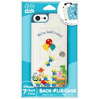 PGA iPhone 7/6s/6用 バックフリップケース PG-DCS233TOY