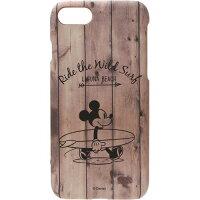 ディズニー iPhone8 iPhone7用 ラバーコートケース ミッキーマウス PG-DCS344MKY(1コ入)