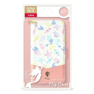 PGA  iPhone XS フリップカバー PG-DFP640ARL