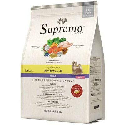 シュプレモ 超小型犬4kg以下用 成犬用(4kg)
