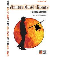 楽譜 ジェームス・ボンド・テーマ 中級ピアノ