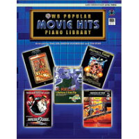 楽譜 ポピュラー・ピアノ・ライブラリー:映画ヒット曲集 レベル3 CD&MIDI付き、初級ピアノ