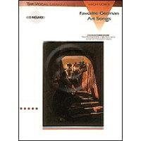 楽譜 お気に入りのドイツ歌曲集 Vol.1 高声用、CD付き