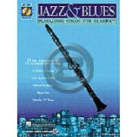 楽譜 ジャズ&ブルース曲集 クラリネット用、CD付き