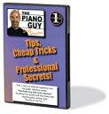 DVD スコット・ヒューストン ピアノのやさしいテクニック&プロフェッショナルの秘密 Vol.1 Scott Houston - Tips, Cheap Tricks & Professional Secrets, Vol.1 輸入DVD