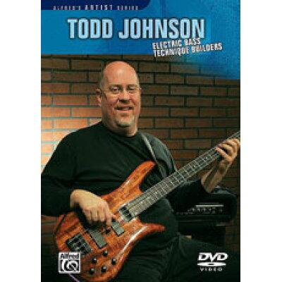DVD トッド・ジョンソン エレクトリックベース・テクニック・ビルダー Todd Johnson Electric Bass Technique Builders 輸入DVD