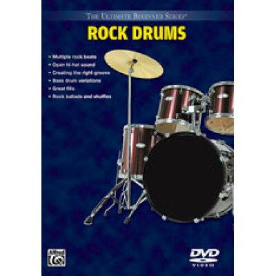 DVD トム・ブレックライン 究極の入門シリーズ:ロックドラム Tom Brechtlein - Ultimate Beginner Series: Rock Drums 輸入DVD