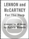 楽譜 ビートルズ名曲集 46曲収録 Lennon and McCartney for the Harp 輸入楽譜