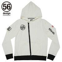56design フィフティーシックスデザイン カジュアルウェア 56RACING Zip Parka SD ジップパーカー SD サイズ:XL