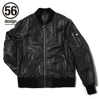 56design 56デザイン 56 R-Line Light Leather Jacket ライトレザージャケット サイズ:XXL